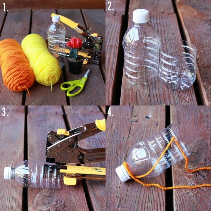 como elaborar una jardinera vertical con botellas de plástico, manualidades con botellas de plastico paso a paso