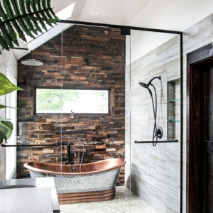 Baños rústicos modernos - ¿Cómo decorar tu baño en estilo rústico?