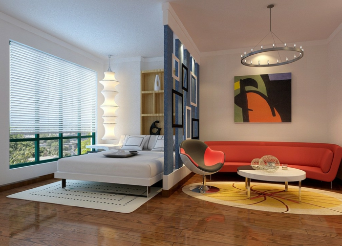 Combinar parquet y muebles interesting mueble apilable de - Combinar muebles en color cerezo y blanco ...