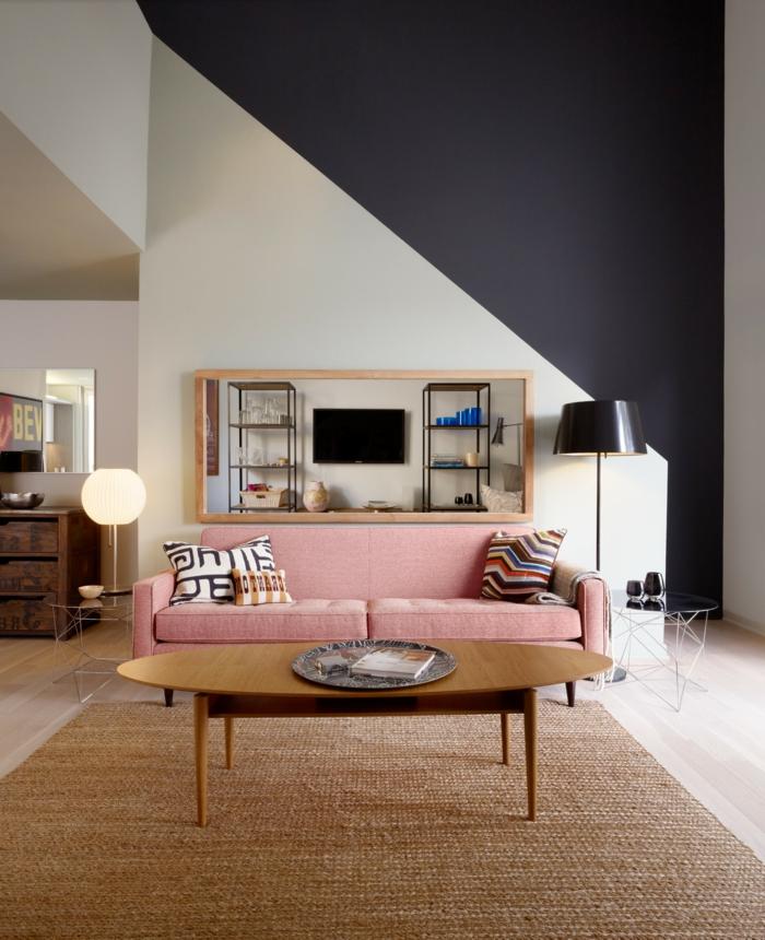 1001 ideas sobre colores para salones y c mo pintar la for Decoracion de paredes modernas