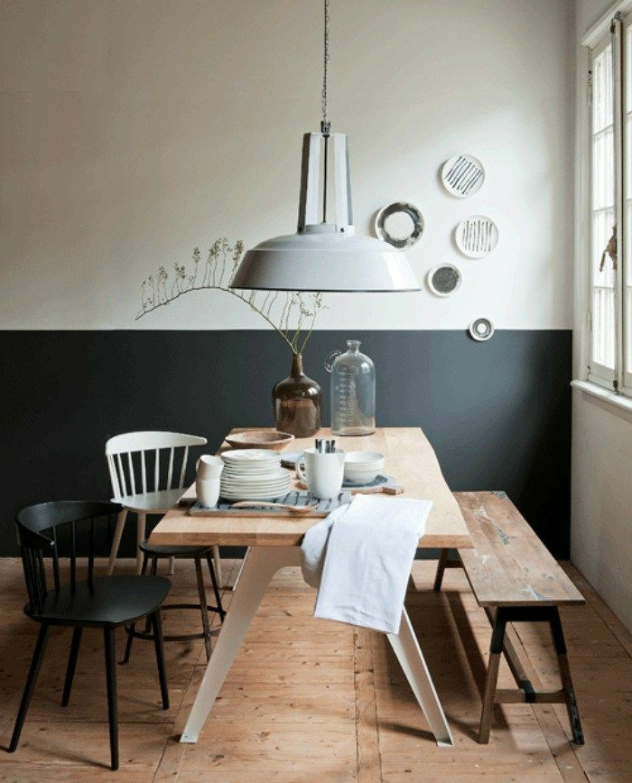 1001 ideas sobre colores para salones y c mo pintar la sala de estar - Colores para un salon comedor ...