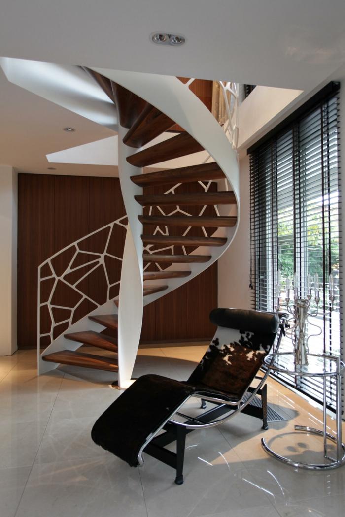 1001 ideas de originales escaleras de caracol con mucho for Escaleras de caracol