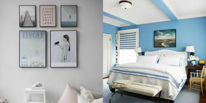 Pintura gris azulado pared interesting salones pequeos for Pintura pared gris azulado