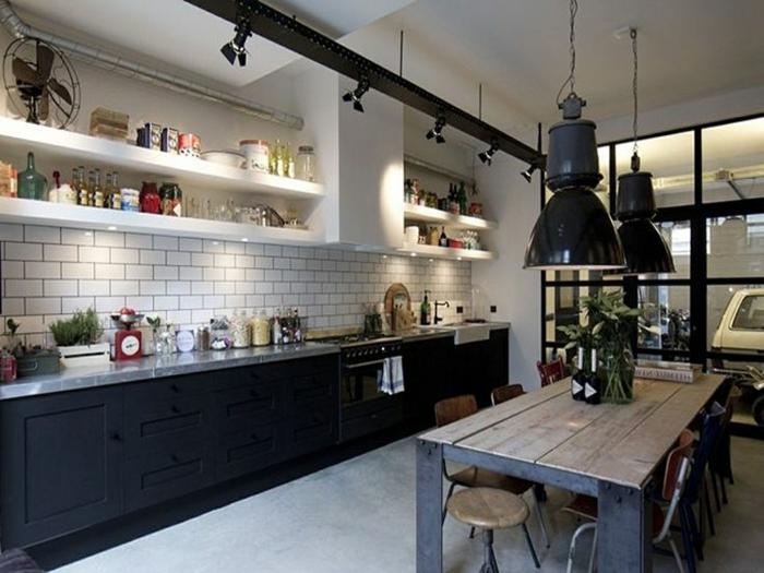 1001 ideas de dise o de cocinas de estilo industrial - Diseno cocina industrial ...