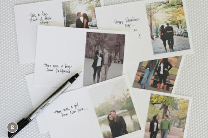 regalos san valentin, tutorial paso a paso, cuaderno de amor, regalo romantico, hojas con fotos y mensajes escritos a mano