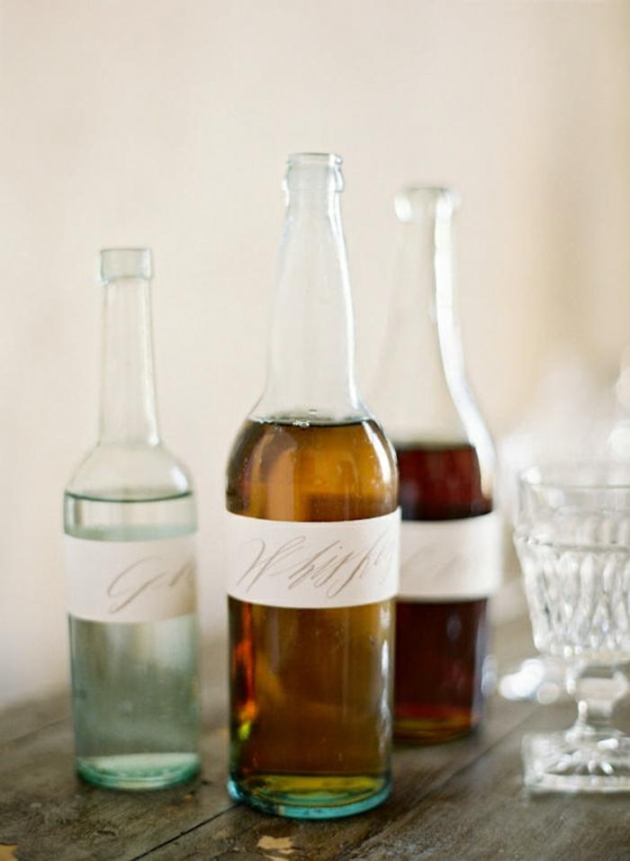 como reutilizar las botellas de vidrio, manualidades fáciles para hacer en casa, botella dibujo