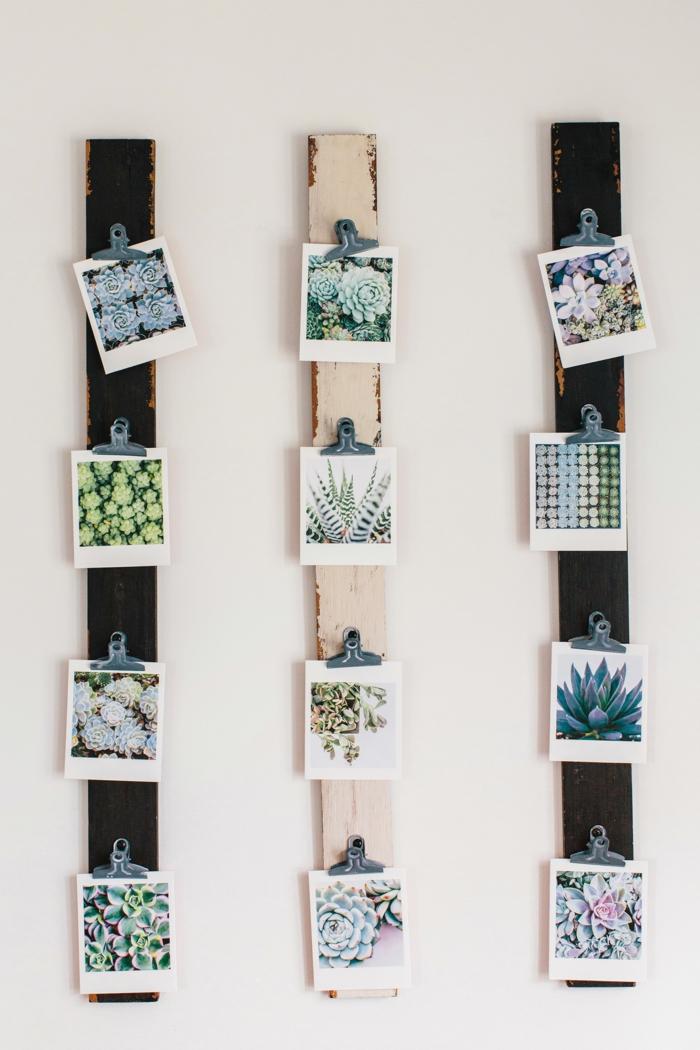 1001 ideas originales sobre c mo decorar con fotos - Fotos originales para hacer en casa ...