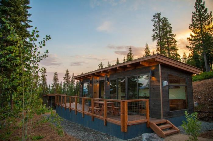 1001 ideas espectaculares de dise os de minicasas - Casas de campo en elche de bancos ...