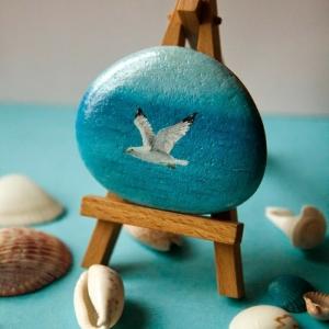 Piedras pintadas - decoración creativa y original