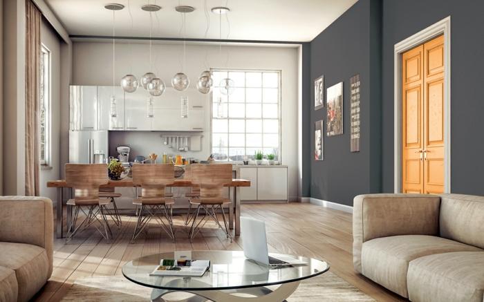 1001 ideas sobre colores para salones y c mo pintar la for Colores para techos de casas