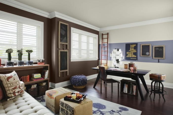 colores para pintar una sala de dos colores latest pintar On colores para pintar una sala de dos colores