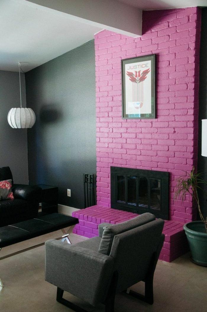 1001 ideas sobre colores para salones y c mo pintar la sala de estar - Decoracion de chimeneas en salones ...