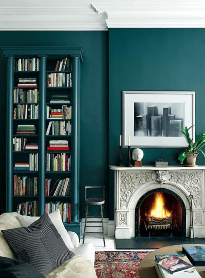 1001 ideas sobre colores para salones y c mo pintar la sala de estar - Pinturas para salones pequenos ...
