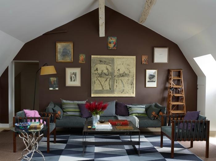 Colores para el salon gallery of saln en tonos tierra - Combinacion de colores para salon ...