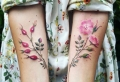 Tatuajes de flores – más de 80 ideas inspiradoras