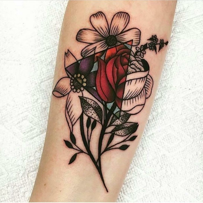 White Lotus Tattoos 1001 Ideas De Tatuajes De Flores En