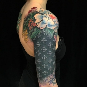 Tatuajes de flores - más de 80 ideas inspiradoras