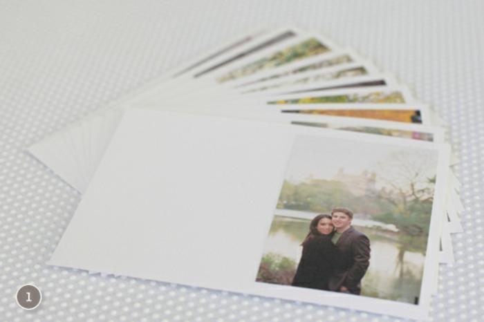 manualidades san valentin, paso a paso, tutorial para hacer cuaderno con fotos y mensajes de amor, cartulina blanca
