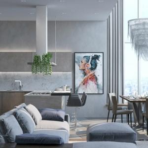 Cocinas abiertas al salón - 80 propuestas de diseño moderno y funcional