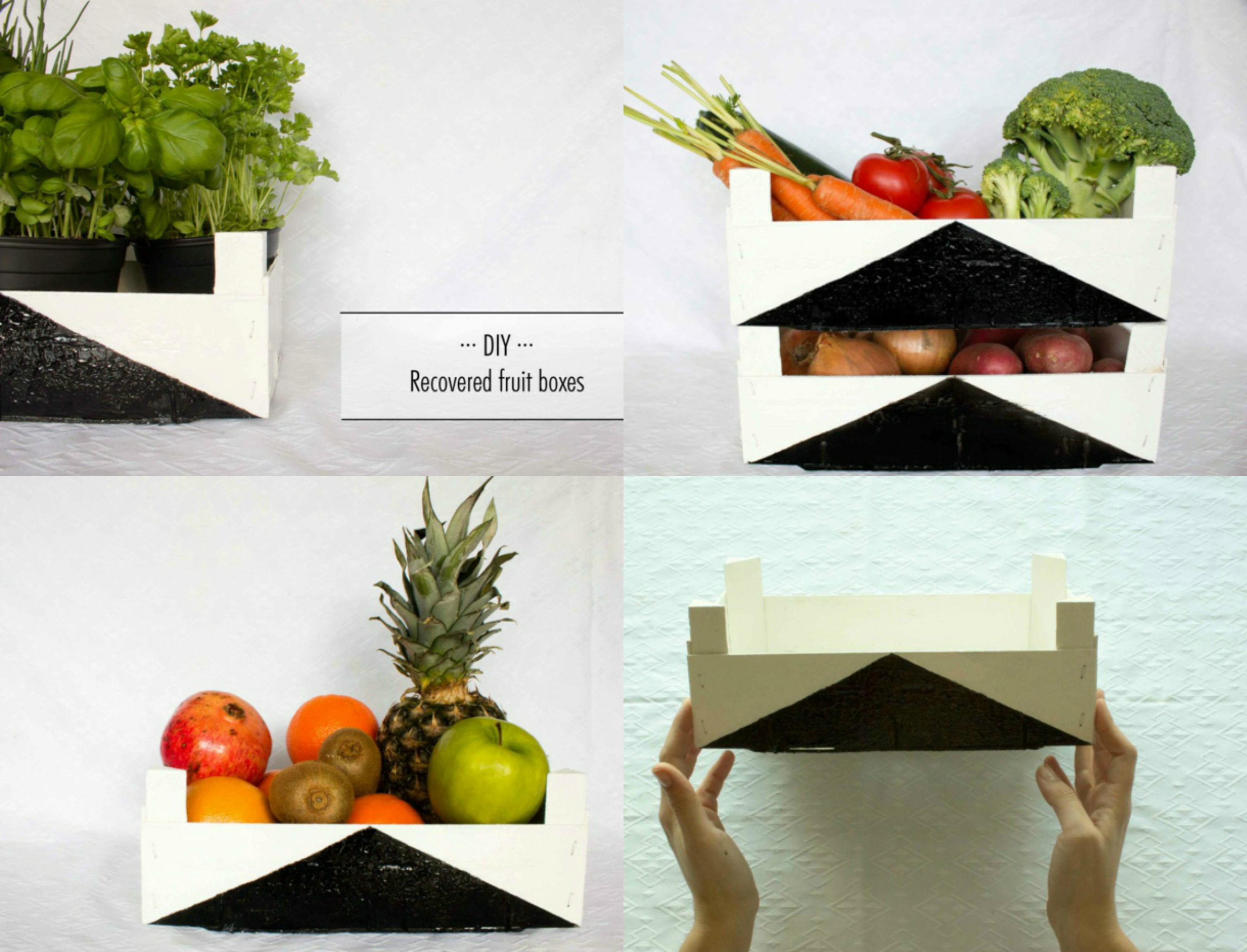 Cajas frutas decoracion caja de frutas antigua de baul - Decoracion cajas de fruta ...