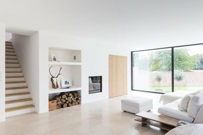 ejemplos de salones modernos pequeños decorados en estilo minimalista, ambiente luminoso decorado en colores claros