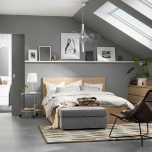 Habitación gris - ambientes relajantes con mucho estilo