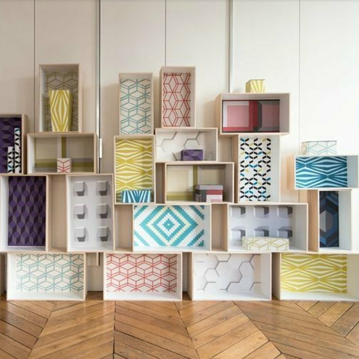 1001 ideas sobre decoraci n con cajas de fruta decoradas - Como decorar cajas de madera de fruta ...