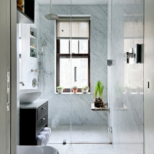 Baños pequeños con ducha - ¿Cómo decorarlos?