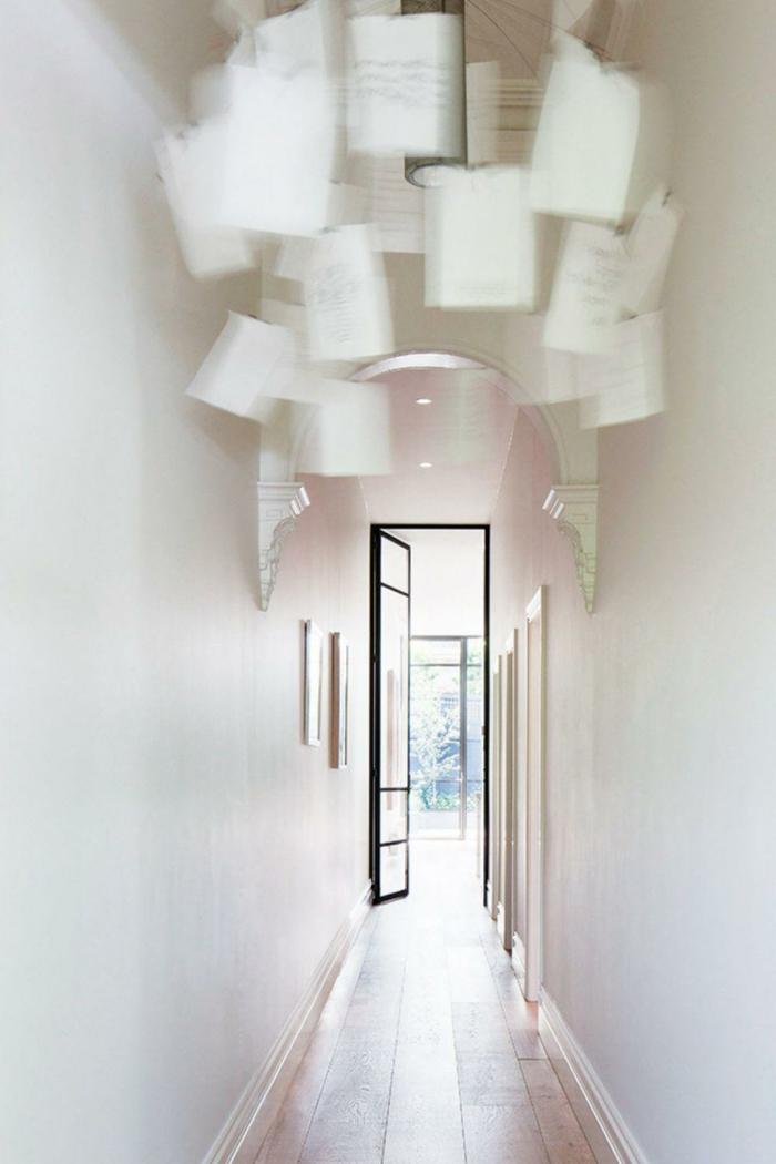 propuesta original para tu recibidor, elemento colgante decorativo DIY, recibidor pequeño y alargado