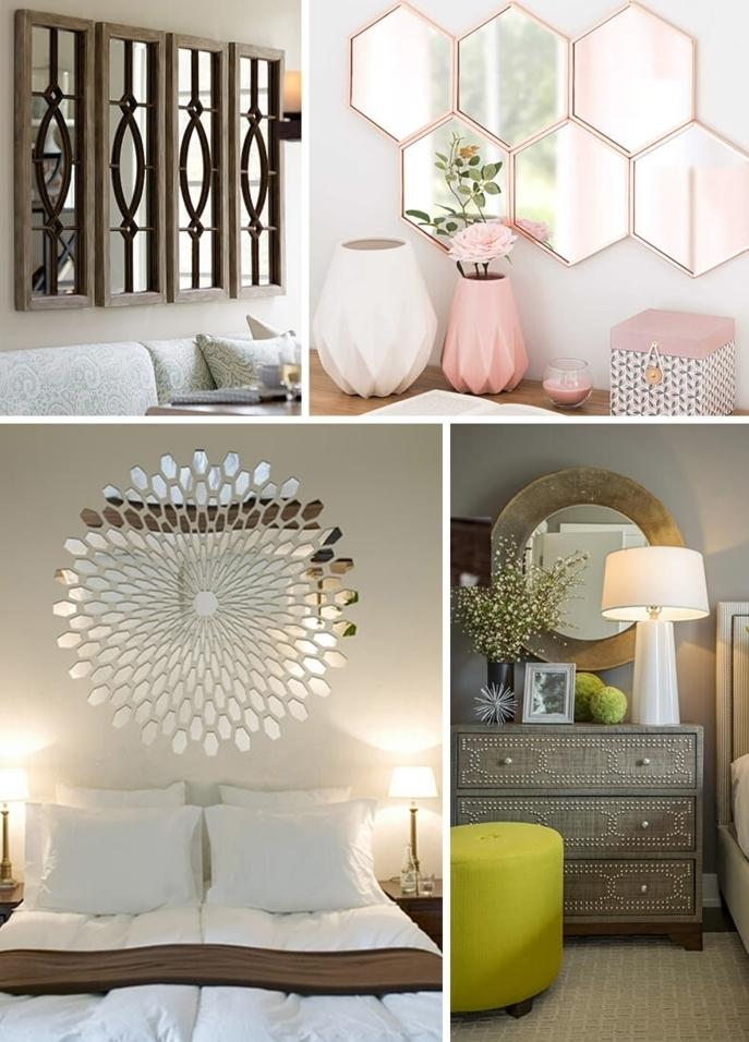 preciosas propuestas de espejos de diferetnte forma y tamaño, espejos decorativos con bonitos marcos