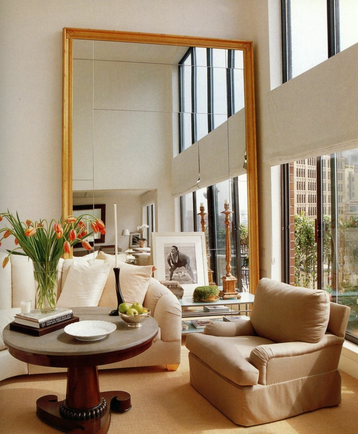1001 ideas de decoraci n con espejos para tu hogar for Espejos grandes con marco