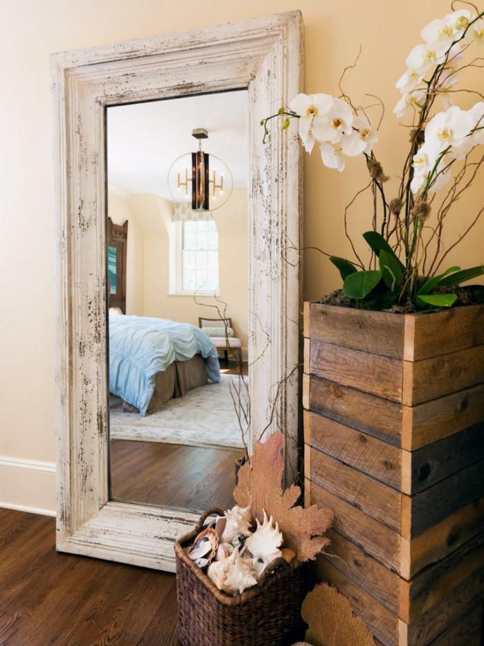 1001 ideas de decoraci n con espejos para tu hogar for Espejo grande blanco