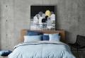 Habitación gris – ambientes relajantes con mucho estilo