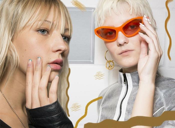 dos propuestas modernas de uñas cortas y largas, cuales son las tendencias para primavera verano 2018