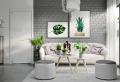 Salón gris y blanco – 90 diseños sofisticados y modernos que enamoran