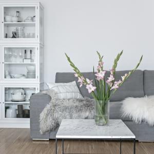 Salón gris y blanco - 90 diseños sofisticados y modernos que enamoran