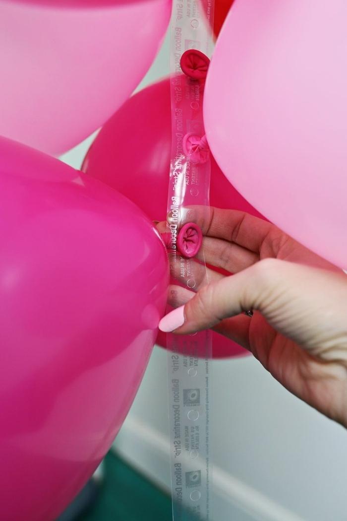 manualdiades con globos paso a paso, como hacer un arco de globos para decorar tu hogar, decoración con globos