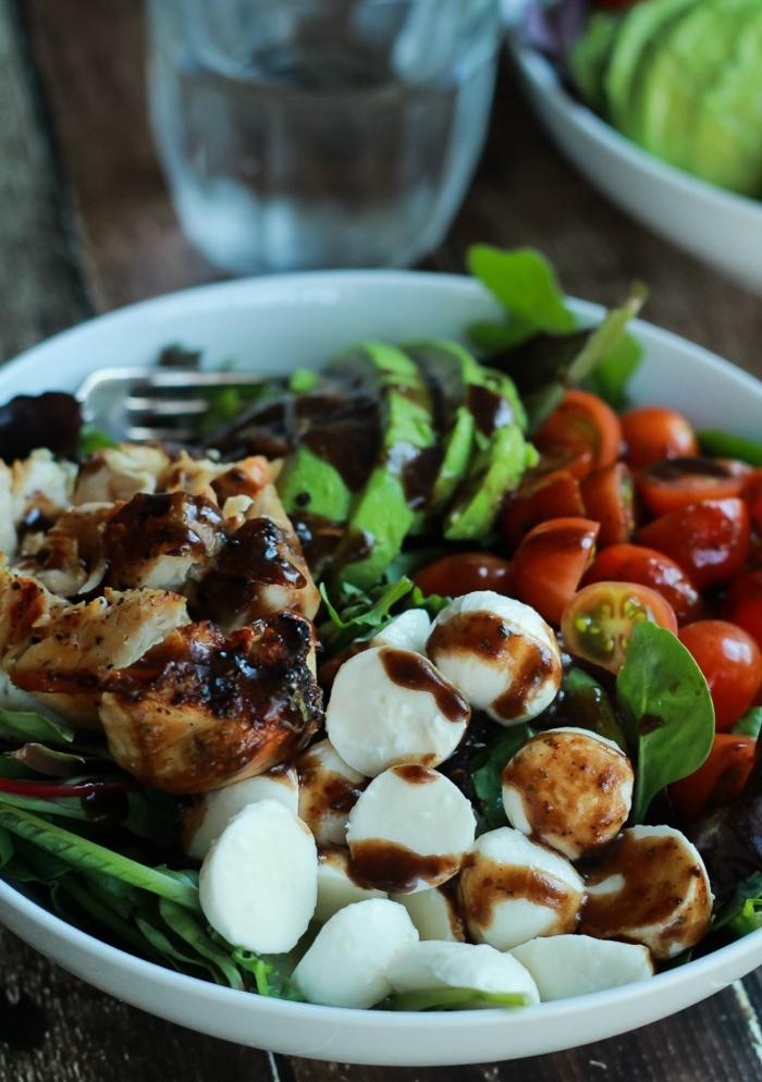 recetas faciles y sanas para conseguir una dieta saludable, recetas faciles y sanas conn mozarella, carne y verduras