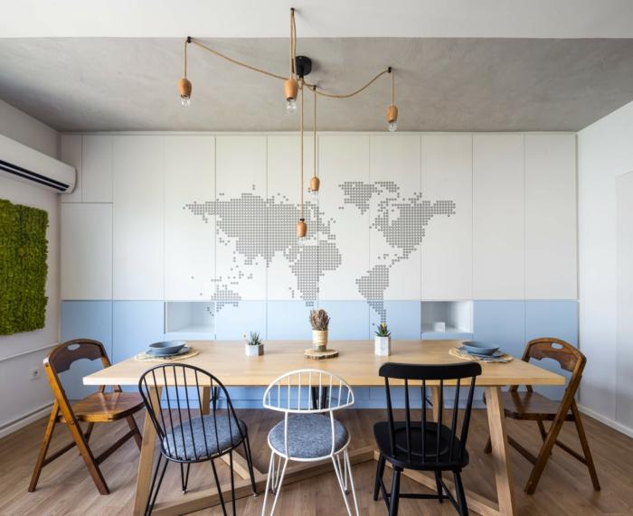 1001 ideas sobre c mo decorar un sal n comedor for Como decorar un comedor de madera