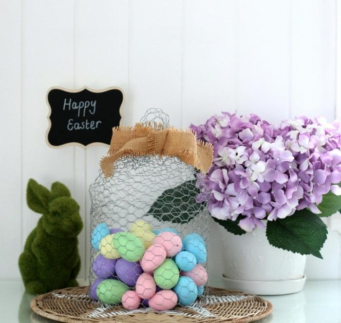 manualidades para decorar la casa en primavera, ideas originales sobre como hacer huevos de pascua , huevos pintados en colores pasteles