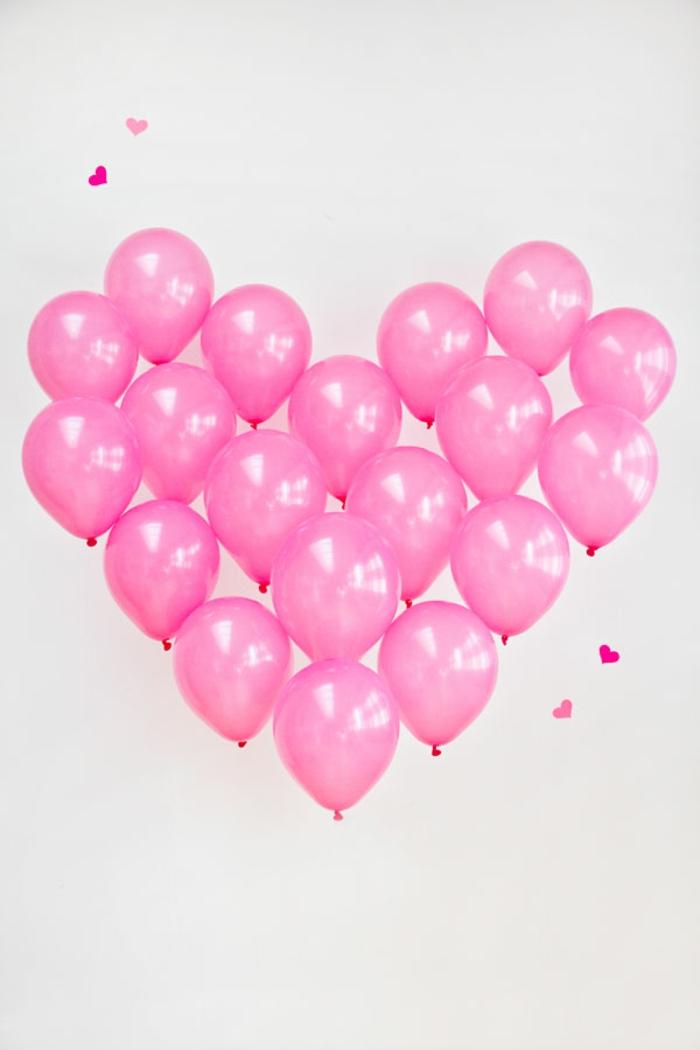 como hacer un arco en forma de corazón de globos cumpleaños, ideas originales para decoración de fiestas