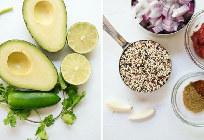 ingredientes necesarios para hacer unos ricos aguacates rellenos, comidas rapidas y faciles paso a paso