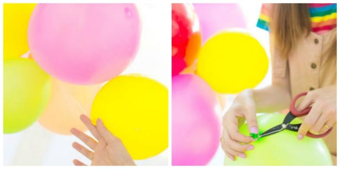 1001 ideas sobre decoraci n con globos para fiestas y - Como hacer un cumpleanos original ...