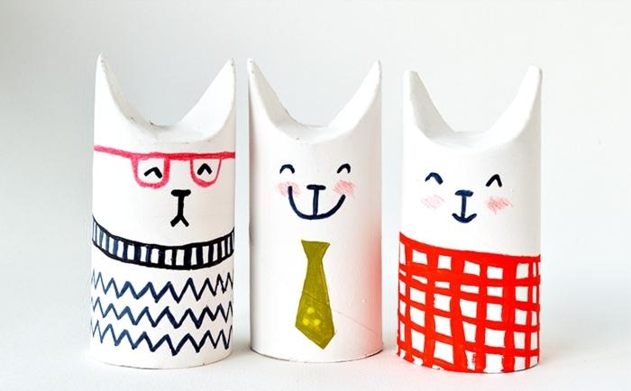 preciosas decoracion con tubos de cartón, manualidades con papel higienico paso a paso, ideas de manualidades con reciclaje