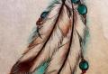 Tatuajes de plumas – 50 fantásticas ideas de tatuajes con significado