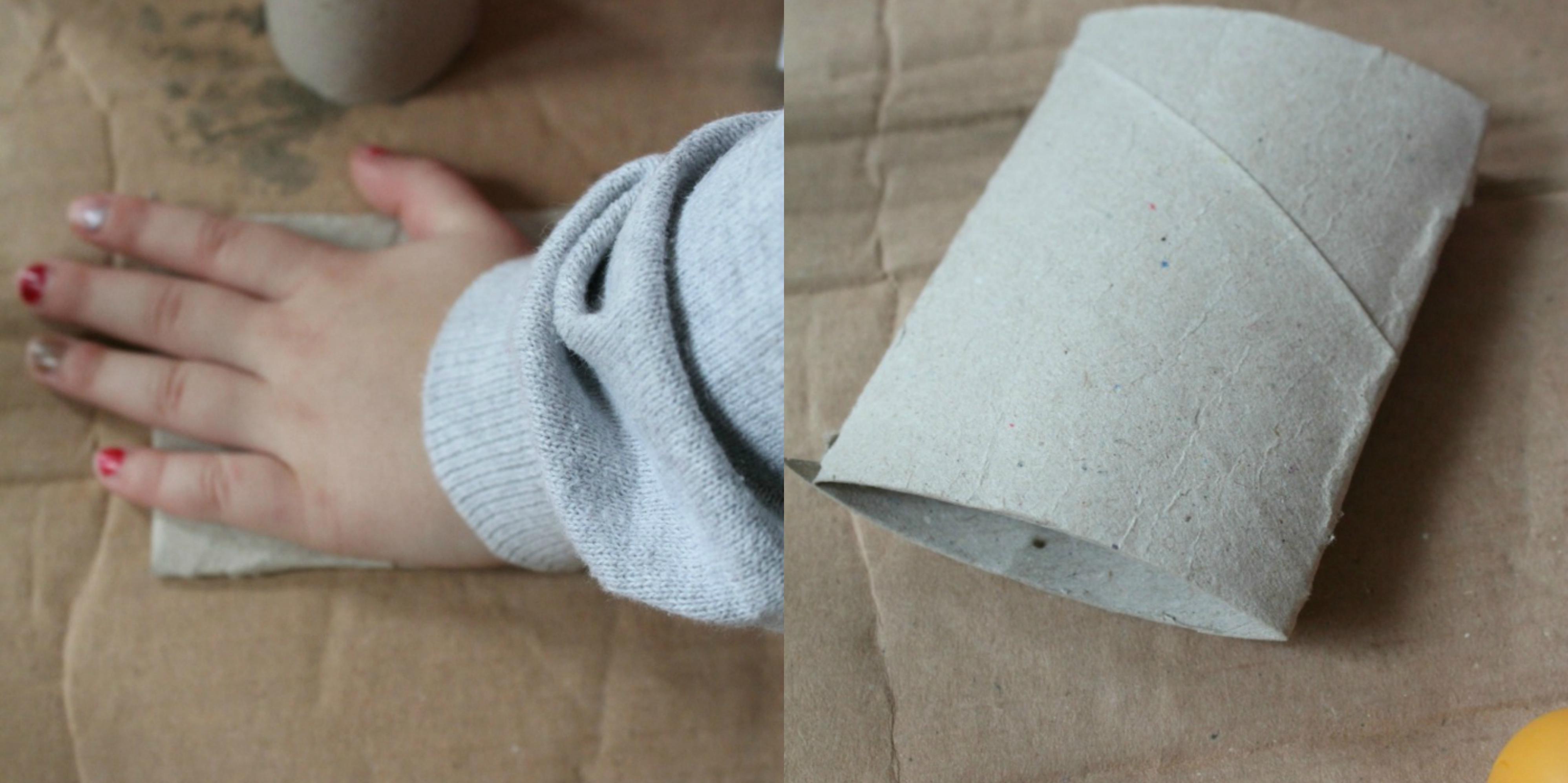 como-hacer-una-decoracion-para-la-pared-con-abejas-de-rollos-de-papel-higienico-manualidades con rollos de papel higiénico-paso-paso
