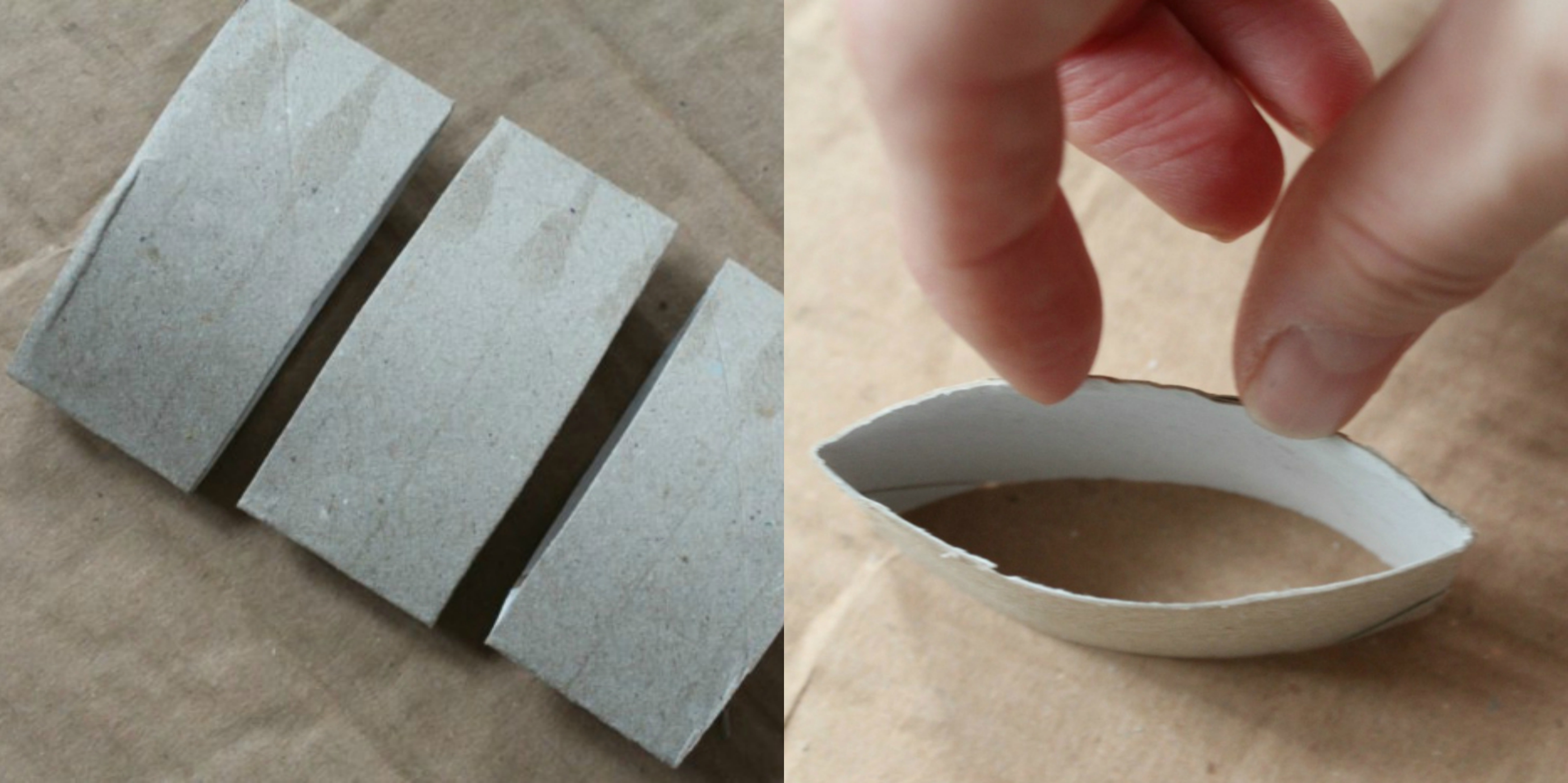 1001 ideas de manualidades con rollos de papel higi nico - Decoracion con rollos de papel higienico ...
