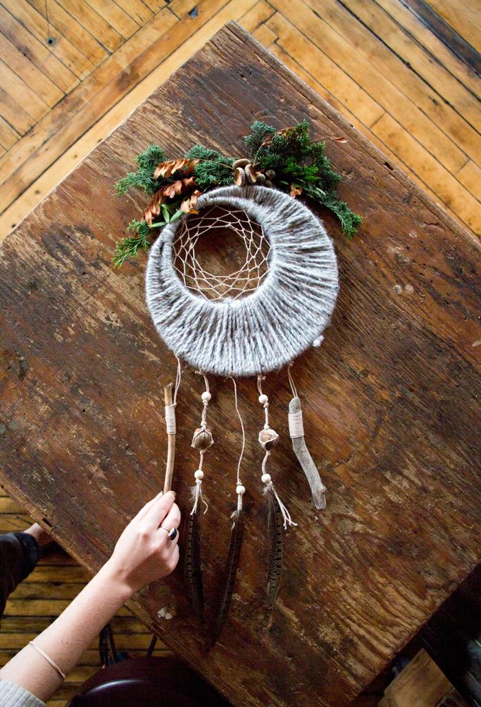 precioso atrapasueños ganchillo para hacer en casa, bonita decoración para tu hogar paso a paso