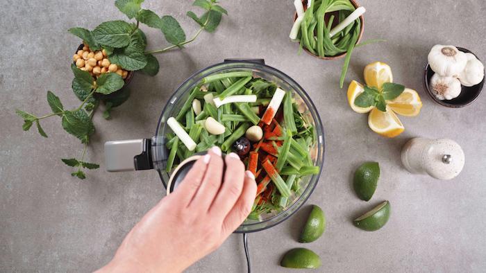como hacer falafel verde paso a paso, ideas de recetas de entrantes ricos y saludables, fotos de entrantes caseros ricos