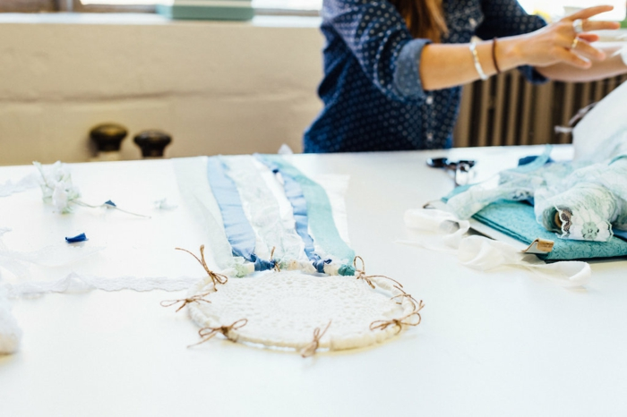 preciosas manualdiades con crochet, como hacer atrapasueños en estilo bohemio paso a paso